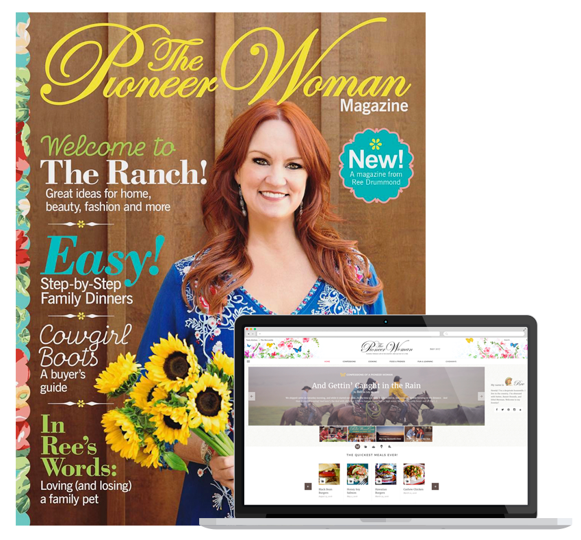 The pioneer woman magazine magazinelaunch for Where to buy pioneer woman magazine
