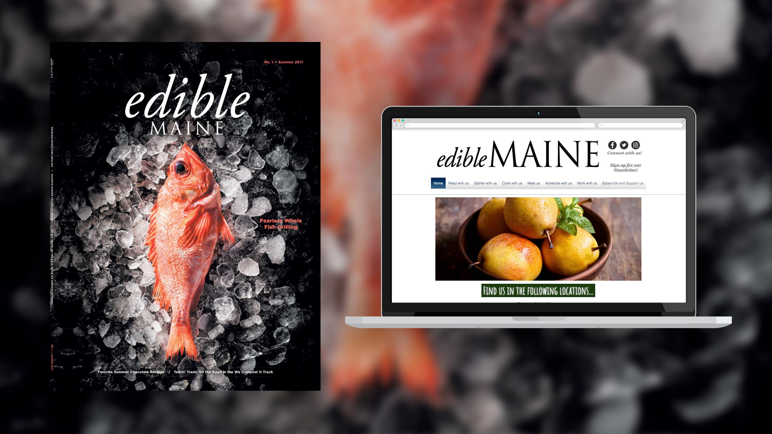 Edible Maine Magazine