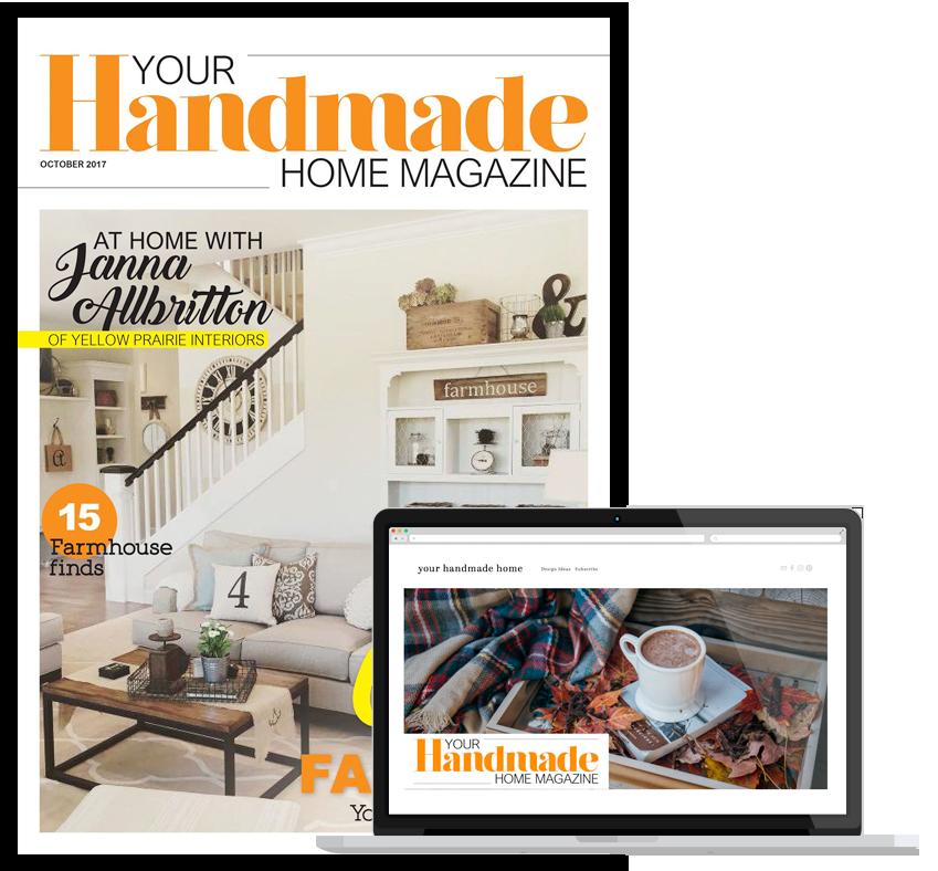Your Handmade Home Magazine
