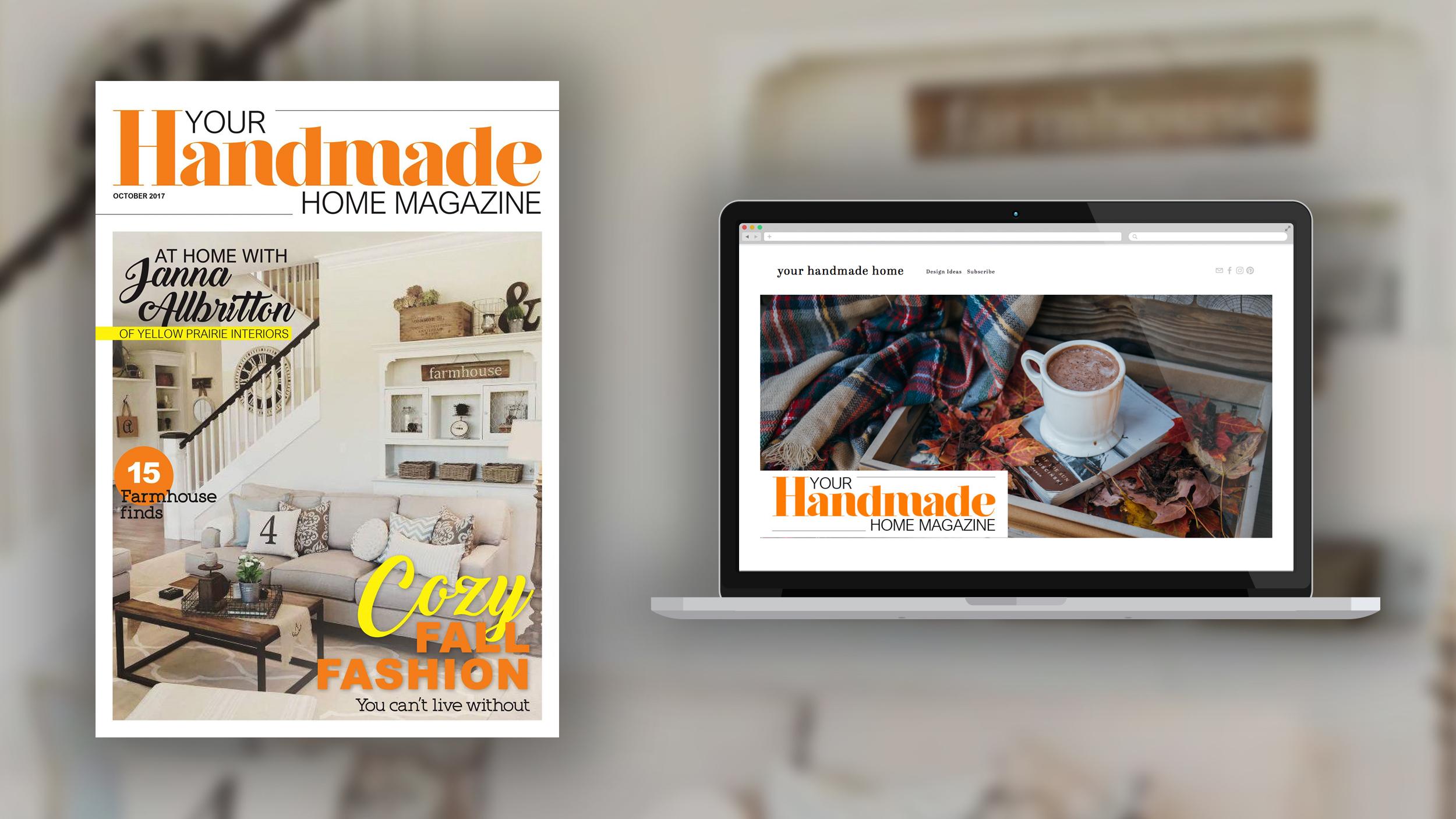 Your Handmade Home Magazine - MagazineLaunch